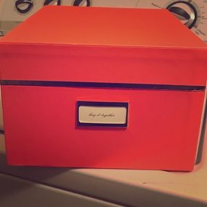 Kate Spade Stow away box